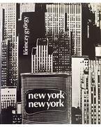 New York, New York (számozott) - Lőrinczy György