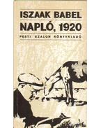 Napló, 1920 - Iszaak Bábel