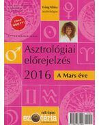 Asztrológiai előrejelzés 2016 - Izing Klára