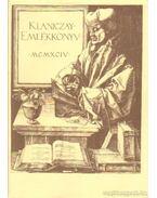 Klaniczay-emlékkönyv - Jankovics József