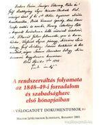A rendszerváltás folyamata az 1848-49-i forradalom és szabadságharc első hónapjaiban - Jároli József
