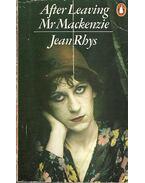 After Leaving Mr Mackenzie - Jean Rhys