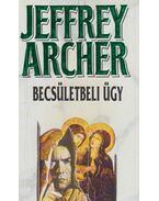 Becsületbeli ügy - Jeffrey Archer