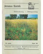 Jeromos füzetek 32. szám - Tarjányi Béla