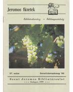 Jeromos füzetek 37. szám - Tarjányi Béla