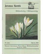 Jeromos füzetek 39. szám - Tarjányi Béla