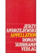 Appellation - Jerzy Andrzejewski