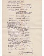 Eötvös József szobra előtt (kézirat) - Jobbágy Károly