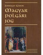 Magyar polgári jog - Jobbágyi Gábor