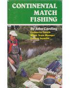Continental Match Fishing - John Carding