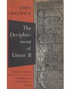 The Decipherment of Linear B - John Chadwick