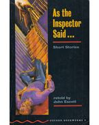 As the Inspector Said and Other Stories - Stage 3 - John Escott