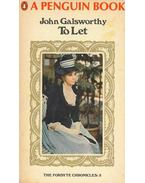 To Let - John Galsworthy