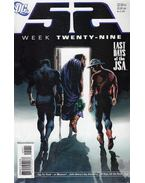 52 Week Twenty-Nine - Johns, Geoff, Morrison, Grant, Greg Rucka, Waid, Mark, Batista, Chris