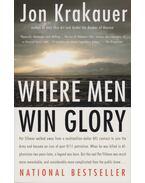 Where Men Win Glory - Jon Krakauer