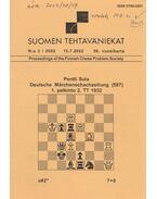 Suomen Tehtäväniekat 2002/3 - Jorma Paavilainen