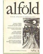 Alföld 1984/4. - Juhász Béla
