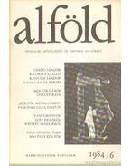 Alföld 1984/6. - Juhász Béla