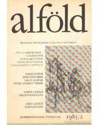 Alföld 1985/2. - Juhász Béla