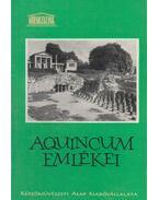 Aquincum emlékei - Kaba Melinda