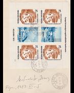 Kádár János (1912–1989) saját kezű aláírása postabélyegzett levélborítékon (1973) - Kádár János