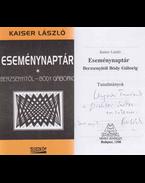 Eseménynaptár (dedikált) - Kaiser László