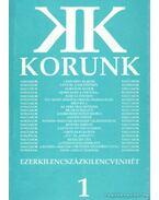 Korunk 1997/1 - Kántor Lajos