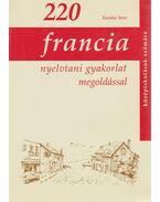 220 Francia nyelvtani gyakorlat megoldással - Karakai Imre