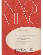 Nagyvilág 1963/5. - Kardos László