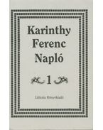 Napló 1. - Karinthy Ferenc