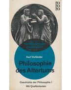 Philosophie des Altertums - Karl Vorländer