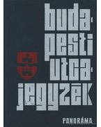 Budapesti utcajegyzék 1974 - Károly István dr.