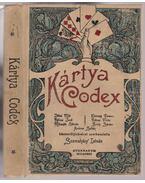 Kártya Codex - Jókai Mór, Rákosi Jenő, Mikszáth Kálmán, Herczeg Ferenc, Rákosi Viktor, Bródy Sándor, Ambrus Zoltán