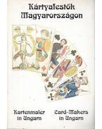 Kártyametszők, kártyafestők Magyarországon a XVIII-XX. században - Bedő József, Horváth Ferenc, Jánoska Antal