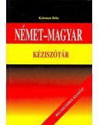 Német-magyar kéziszótár - Kelemen Béla