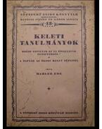 Keleti tanulmányok - Mahler Ede