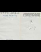 Beszélgetések a szerelemről (aláírt, számozott) - Kerényi Károly