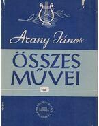 Arany János összes művei VIII. - Keresztury Dezső (szerk.), Arisztophanész
