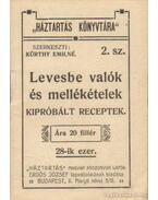 Levesbe valók és mellékételek - Kürthy Emilné (szerk.)