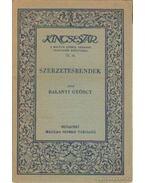 Szerzetesrendek - Balanyi György