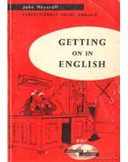 Getting on in English - Haycraft, John