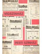 Vígszínház - Pesti Színház - Szilágyi István, Székely György