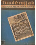 Tündérujjak 1937. június XIII. évf. 6. (146.) szám - W. Bartha Emma (szerk.)