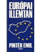 Európai illemtan - Pintér Emil