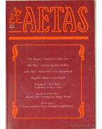 Aetas 1991/1. - Deák Ágnes