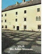 Vaja - Vay Ádám Múzeum - Rappai Zsuzsa