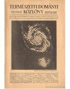 Természettudományi Közlöny 1933. május 9-10. szám - Gombocz Endre, Szabó-Patay József