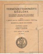 Természettudományi Közlöny 1925. március 817. füzet - Gorka Sándor, Ilosvay Lajos
