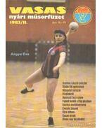 Vasas nyári műsorfüzet 1983/II. - Ferenczy István