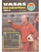 Vasas őszi műsorfüzet 1982/II. - Ferenczy István
